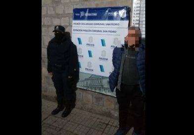 Detenido por pedido de captura por un hecho de abigeato