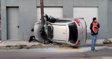 [Regionales] San Nicolás: grave accidente entre dos automóviles